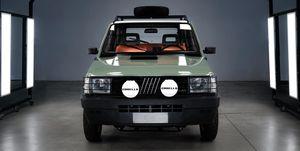 Fiat Panda 4x4 Electric by Garage Italia Customs
