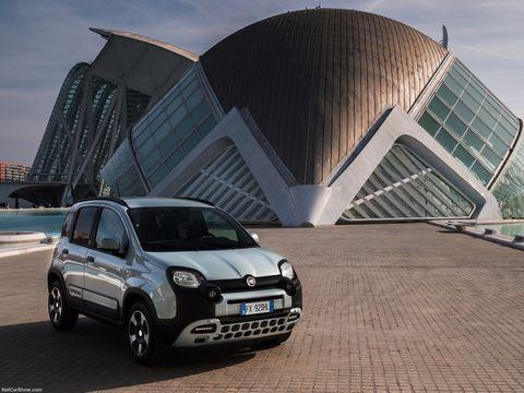 fiat panda hybrid, sesión de fotos 2020 en valencia