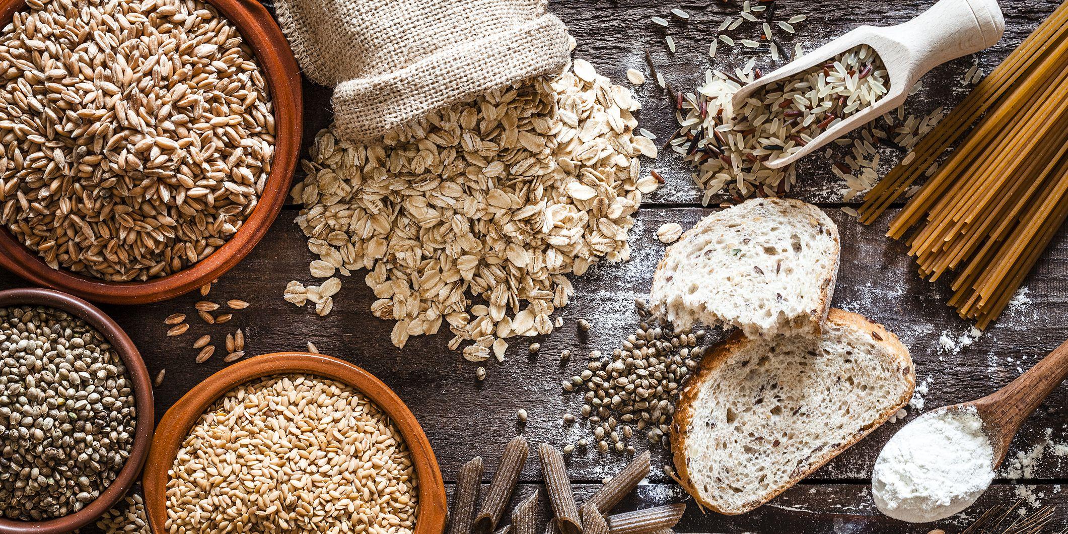 Healthy fibre foods