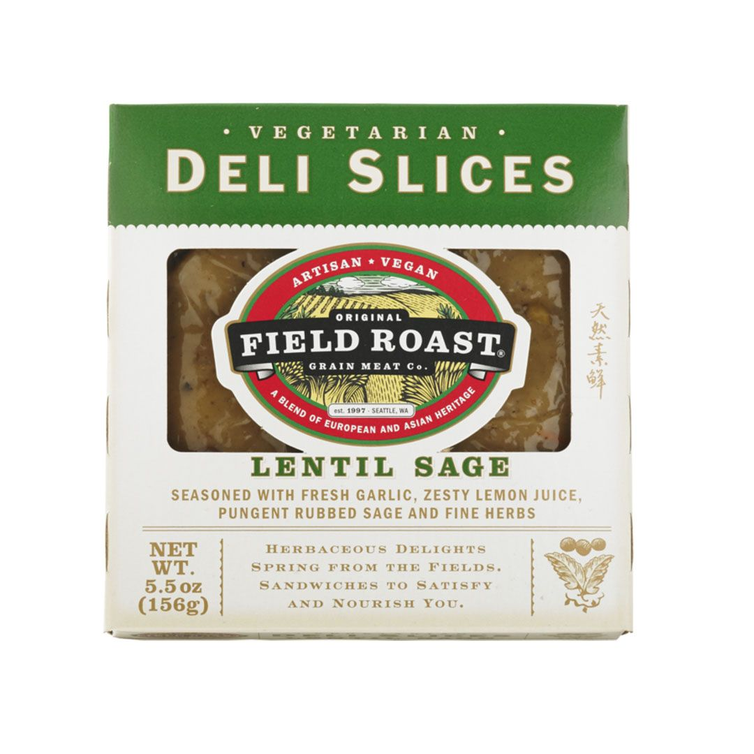 Field Roast Vegetarian Deli Slices Lentil Sage
