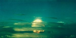 Mushroom Cloud from Nuclear Testing