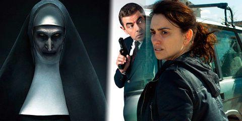 La monja, Johnny English: de nuevo en acción y Todos lo saben, las películas más vistas de la XV Fiesta del Cine