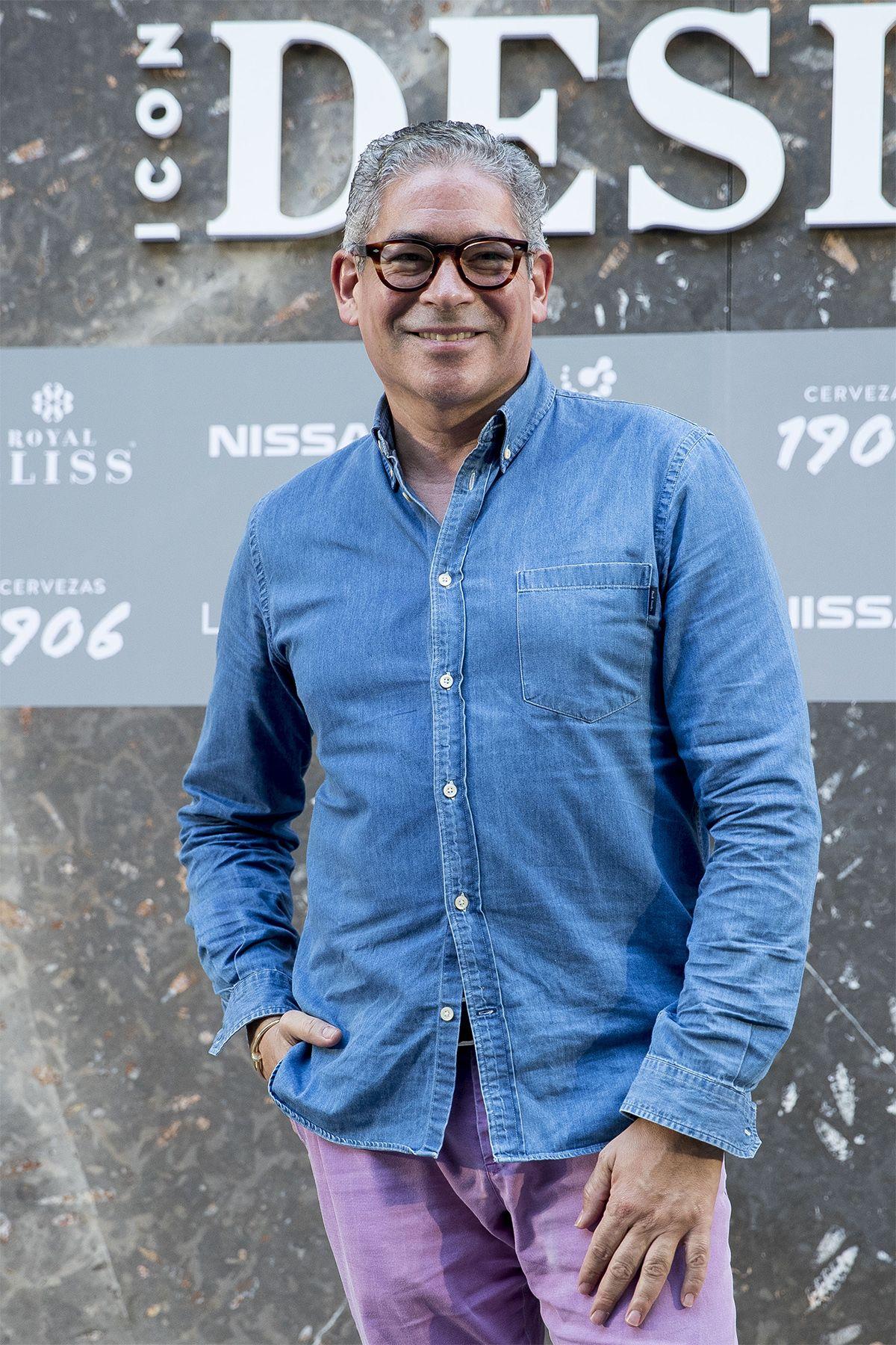 Boris Izaguirre en la fiesta II aniversario Icon Design 2018