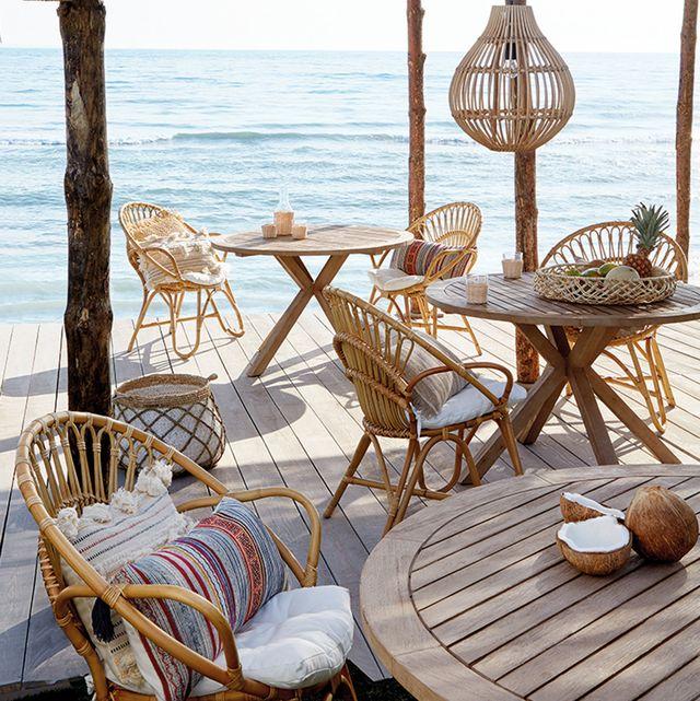 Muebles para jardín perfectos para montar una fiesta