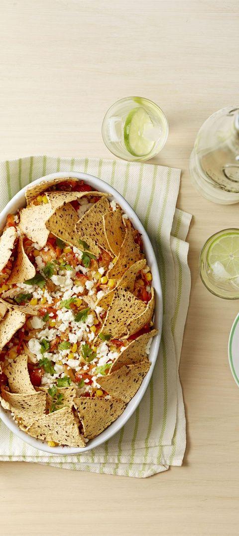 fiesta nacho casserole