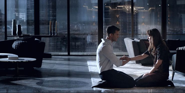 Christian grey 39 s penthouse in fifty shades darker for What kind of movie is fifty shades of grey