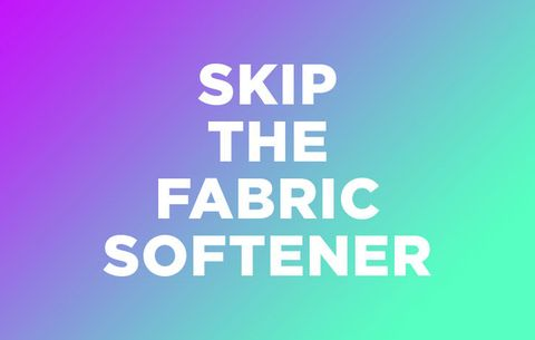 Skip the Fabric Softener