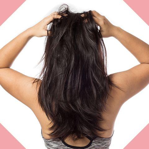 Hair, Hairstyle, Long hair, Black hair, Beauty, Human, Hair accessory, Artificial hair integrations, Brown hair, Fashion accessory,
