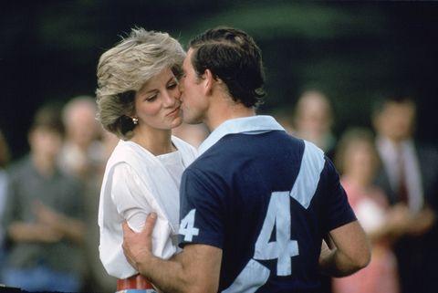 Diana & Charles At Polo