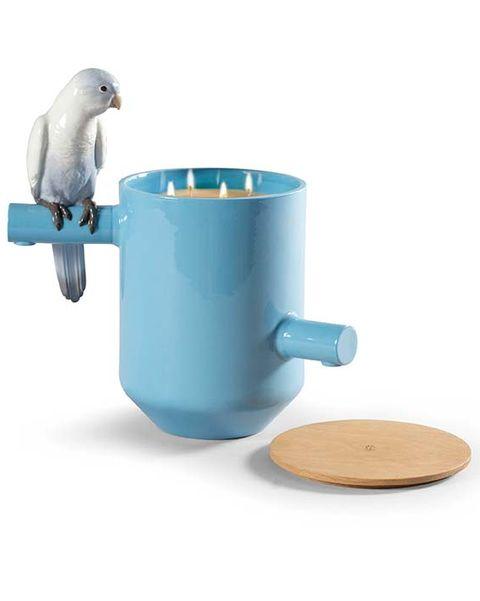 Vela aromática Parrot Treasure de Lladró