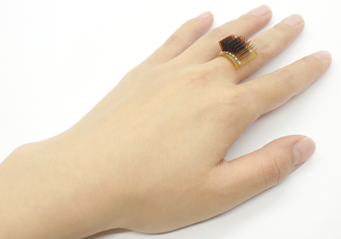 a wearable power generator as a ring