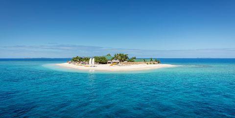 Fiji Mamanuca Islands Beautiful Small Islet