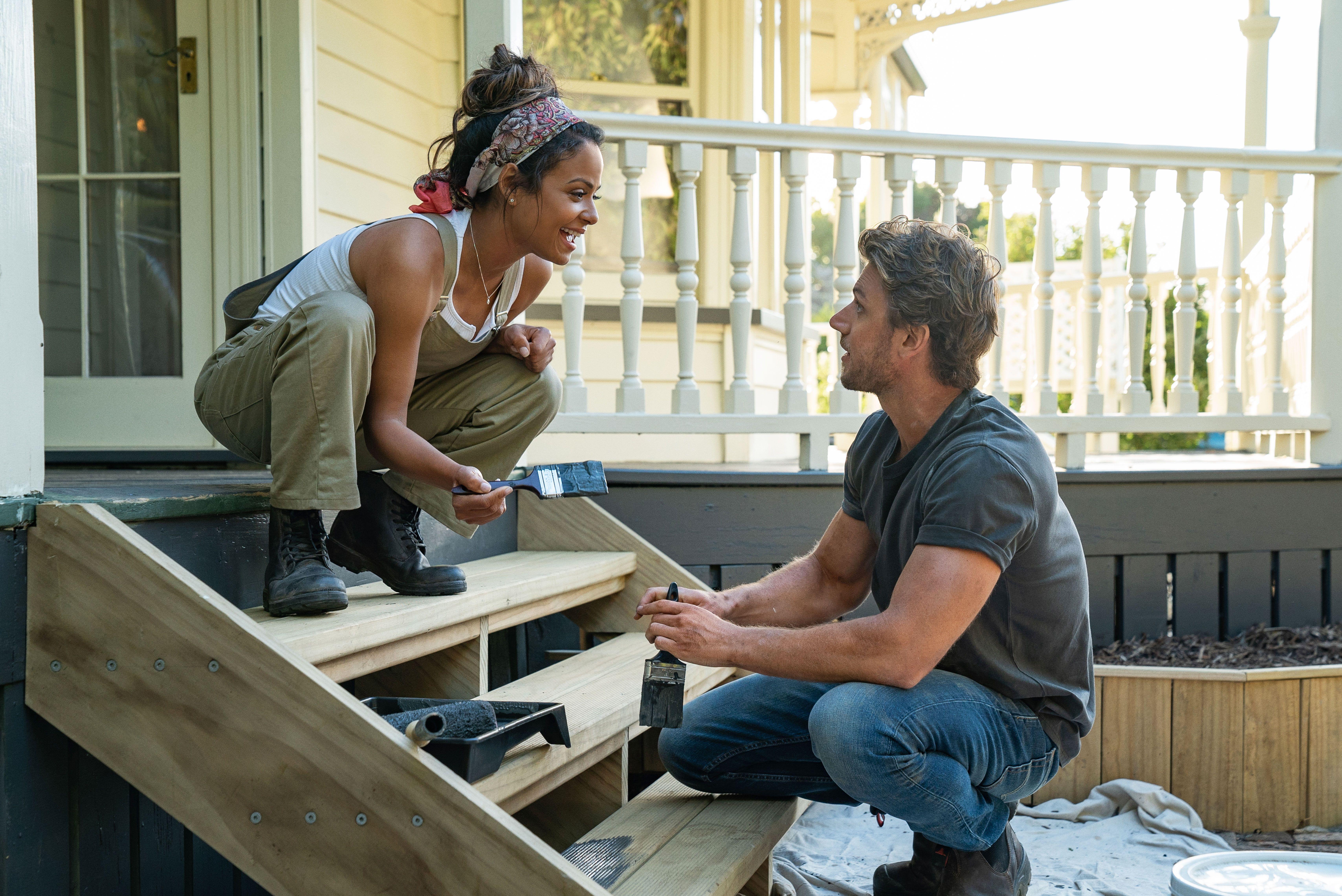 Twitter Can't Stop Hate-Watching Netflix's New Rom-Com 'Falling Inn Love'