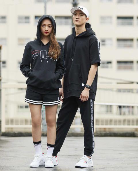 Street fashion, Fashion, Footwear, Sportswear, Jeans, Jacket, Shoe, T-shirt, Outerwear, Photography,