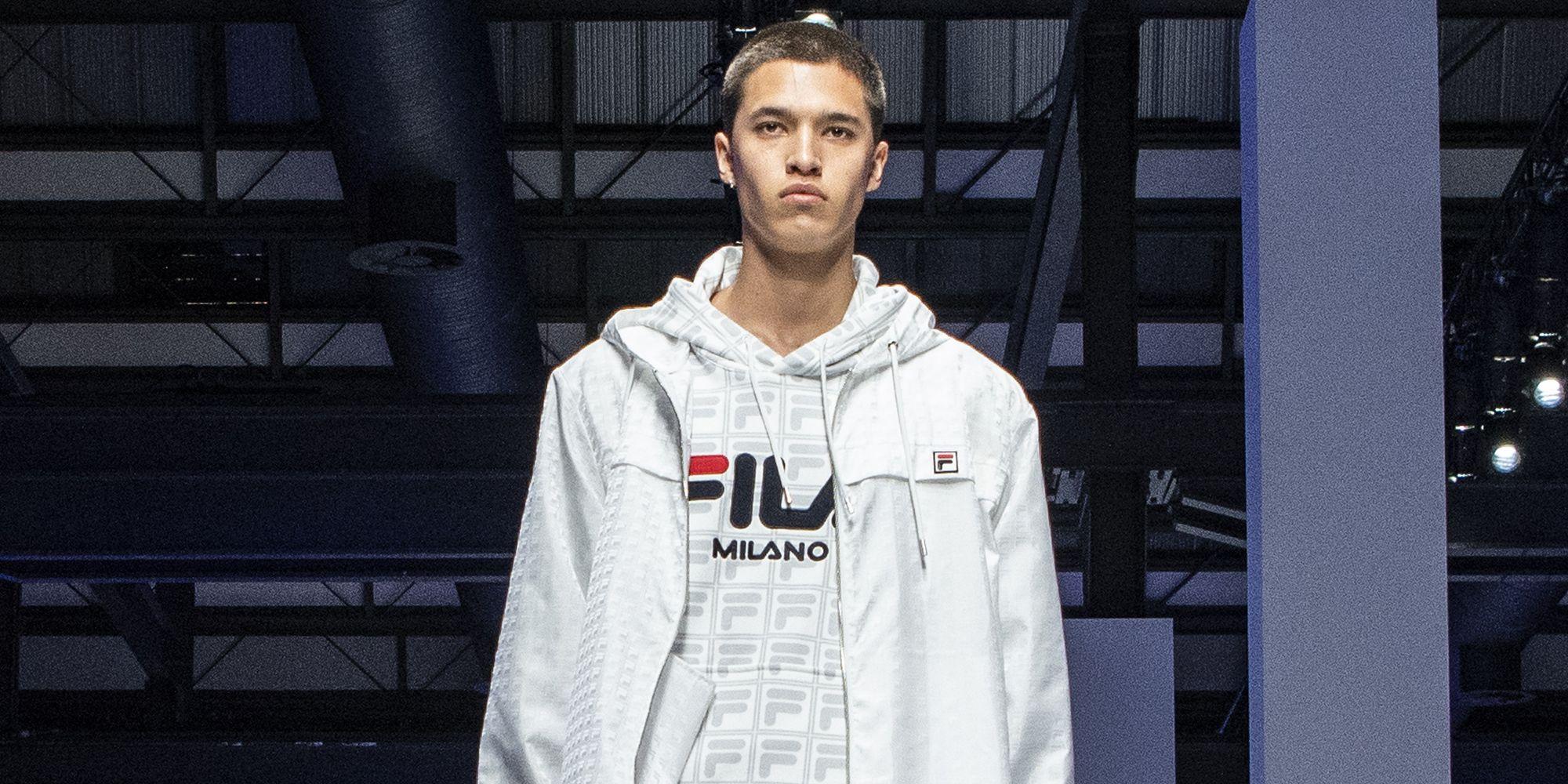 Moda uomo inverno 2017 2018 influenze sportswear hoodie