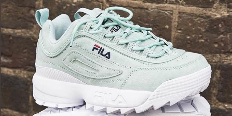 Fila komt met nieuwe collectie sneakers: Fila Ray
