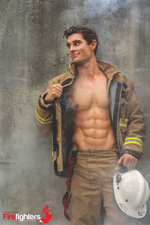 24 Photos From The 2018 Australian Firefighters Calendars
