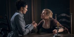 Claire in Outlander