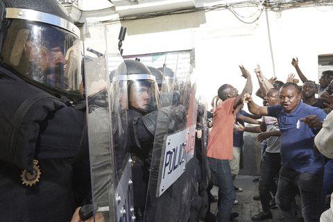 antidisturbios serie rodrigo sorogoyen