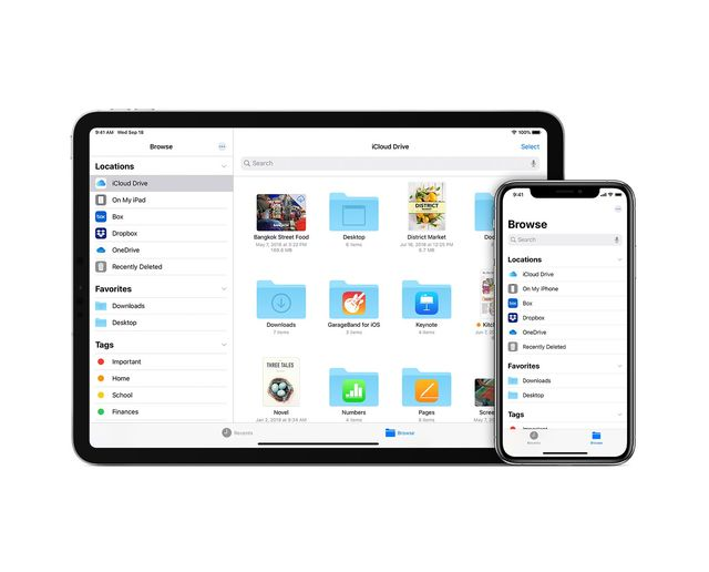 the apple files app