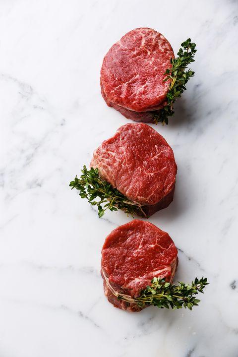 filet mignon types of steak