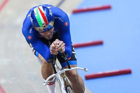 Filippo Ganna breaks men's 4K individual pursuit record twice