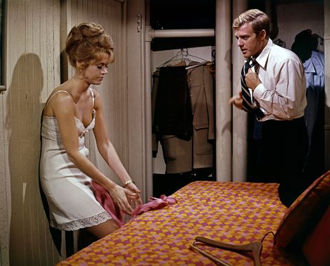 On the set of Barefoot in the Park