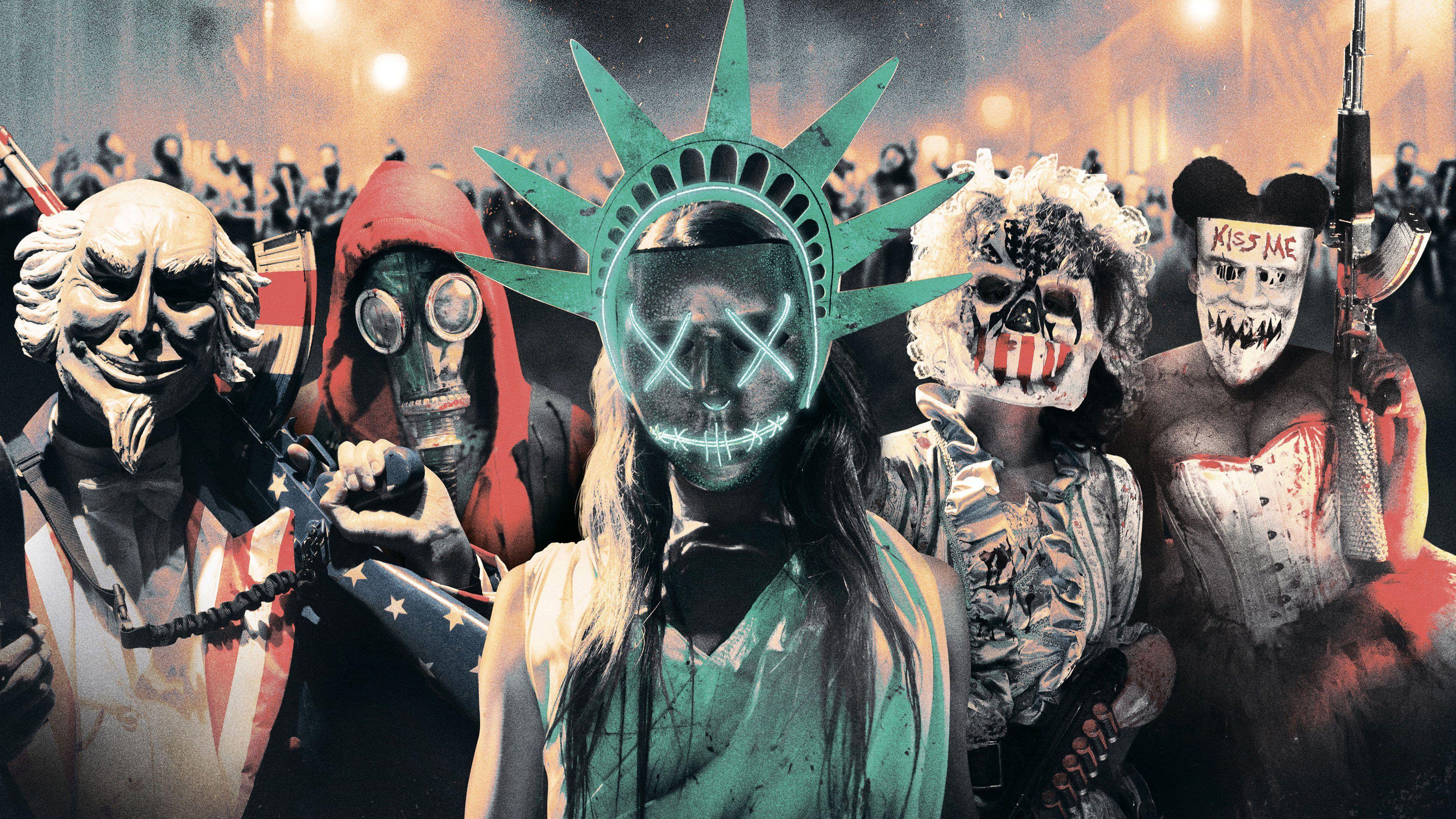 10 Best \u0027The Purge\u0027 Costume Ideas 2019 Masks, Outfit Ideas