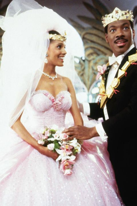 film wedding dresses - coming to america
