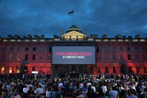 Watch new and classic films at Somerset House this August