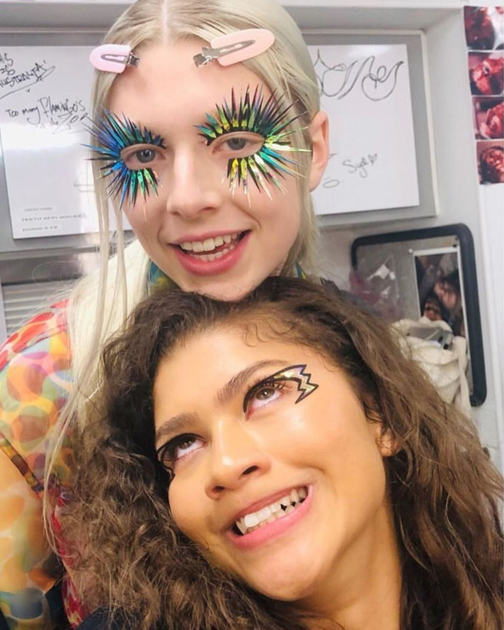 Instagram se llena de filtros de la serie 'Euphoria'