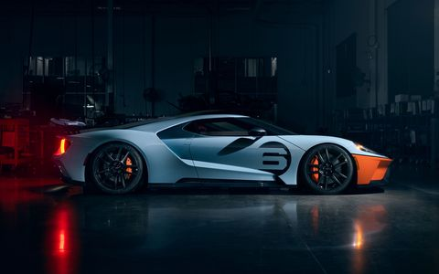 2020 Ford GT Gulf Racing heritage livery celebrates Le Mans winning car