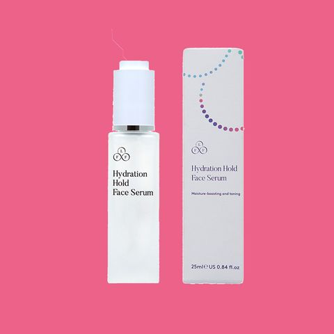 Product, Skin, Beauty, Pink, Water, Skin care, Material property, Liquid, Fluid, Spray,