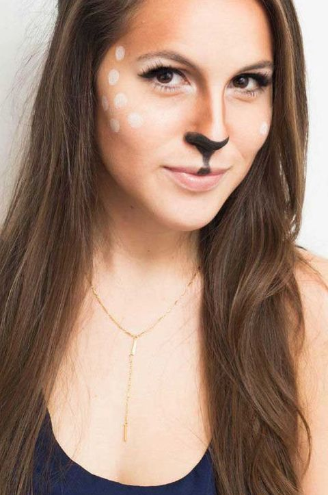 Easy Halloween Makeup Ideas and Costume
