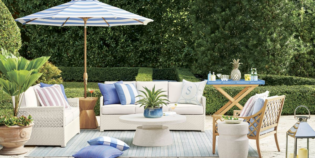 Outdoor Collection With Frontgate, Frontgate Patio Furniture Cushions