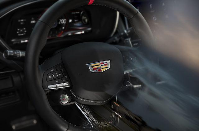 cadillac ct4 v and ct5 v blackwheel steering wheel