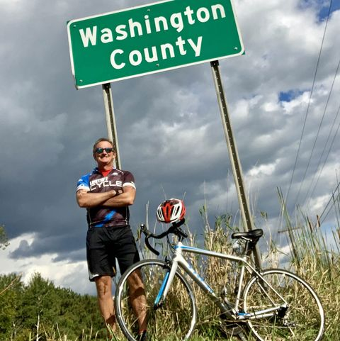 Minnesota Cyclist Rides Every Single Street in His County
