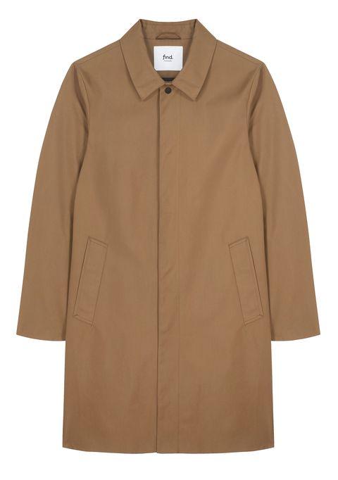 Brown, Collar, Sleeve, Textile, Outerwear, Khaki, Coat, Tan, Fashion, Beige,