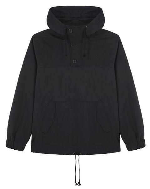 Clothing, Outerwear, Hood, Black, Jacket, Sleeve, Coat, Parka, Hoodie,