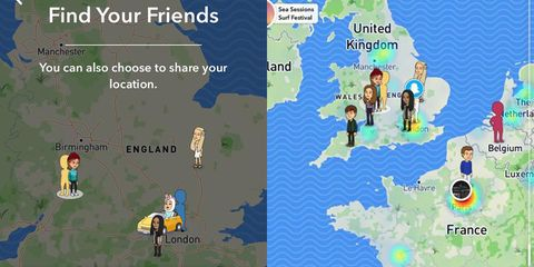 Snapchat's new update tells your friends where you are 24/7 and it's terrifying