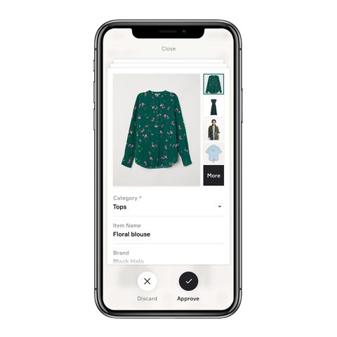 Finery shopping app