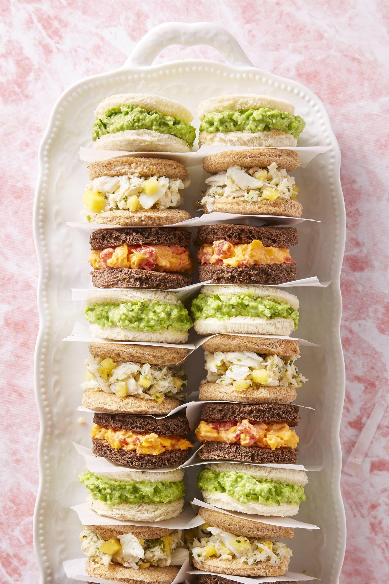 Finger Sandwiches - Easter Brunch Ideas