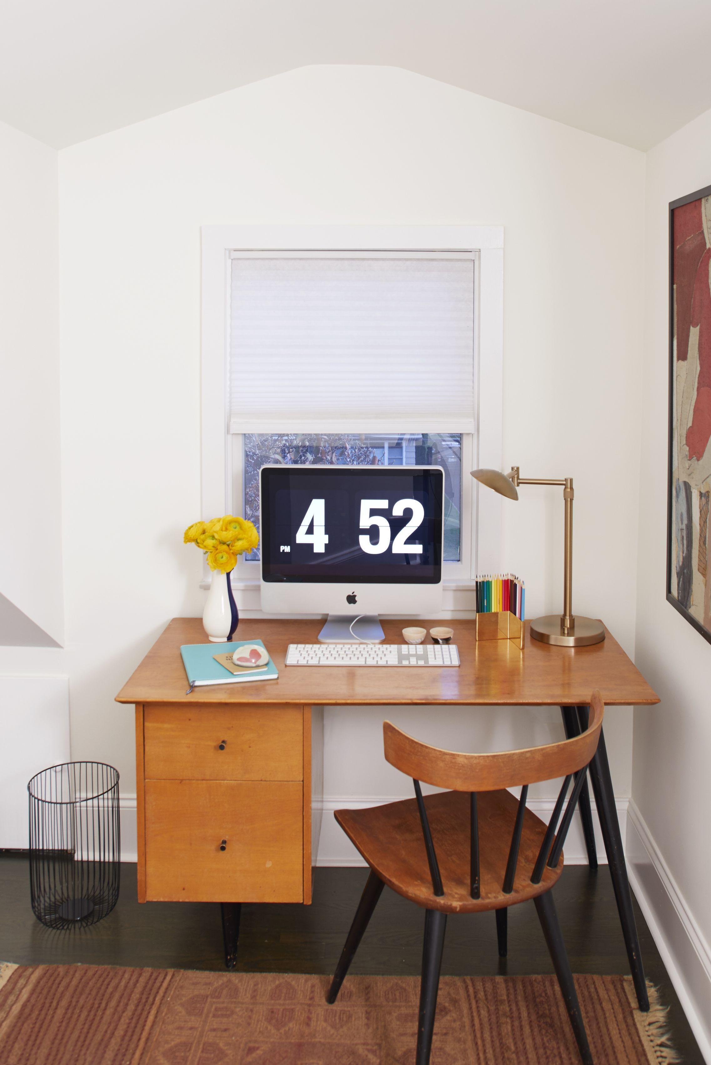 finished attic idea home office