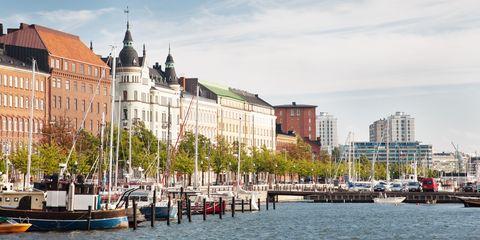 Helsinki's waterfront