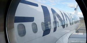 finnair weighs passengers