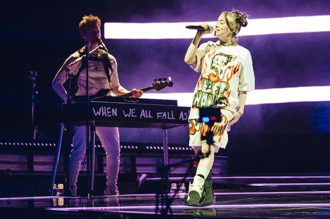 Billie Eilish Concert In Madrid