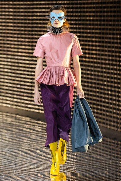 Clothing, Fashion, Yellow, Purple, Street fashion, Outerwear, Fashion design, Footwear, Costume, Electric blue,