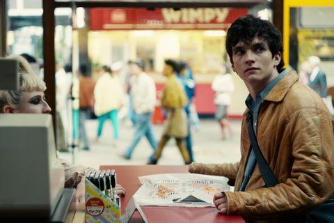 Fionn Whitehead as Stefan in Black Mirror: Bandersnatch