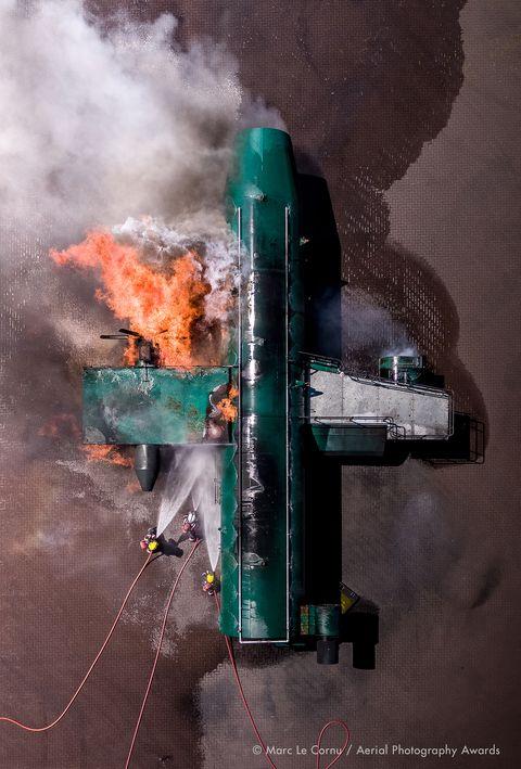 Marc Le Cornu, Fire Attack