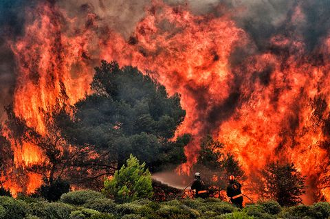 Is it safe to travel to Greece after wildfires?